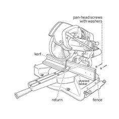 Norm Abram's tricks for cutting molding on a miter saw. | Illustration: Harry Bates | thisoldhouse.com