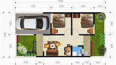 Contoh denah 3d rumah type 21 desain interior rumah minimalis type 36 p1 cari rumah murah pusat kota jakarta