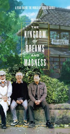 This documentary allows a rare look into the notoriously insular Studio Ghibli, creators of many animated classics, as directors Hayao Miyazaki, Isao Takahata and producer Toshio Suzuki rush to complete The Wind Rises and The Tale of The Princess Kaguya. Hayao Miyazaki, Film D'animation, Film Serie, Princess Kaguya, Isao Takahata, Hideaki Anno, Wind Rises, Art Aquarelle, Japanese Film