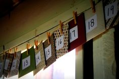 advent calendar for the craft-challenged