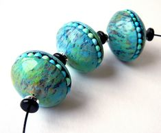 Diva's Turquoise by Sonya's polymer creations (polymer clay)