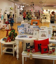 Inside Shop Handmade, Canberra