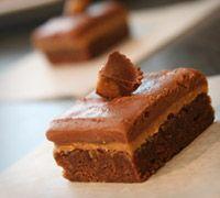 Fudge Peanut Butter Brownies