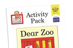 Dear Zoo Activity Pack Dear Zoo Activities, Book Activities, Dear Zoo Eyfs, Early Years Outcomes, Book Tokens, Story Sack, Book Corners, Fun Worksheets, Little Books