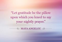 Love Maya's words of wisdom