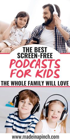 The 28 Best Podcasts For Kids That Parents Will Love Too - Podcasts are a great way for kids to learn and be entertained--without screens! Here's a list of the best podcasts for kids and parents will love them. Short Inspirational Quotes, Inspirational Artwork, Happy Baby, Kids And Parenting, Parenting Hacks, Parenting Classes, Parenting Quotes, Parenting Styles, Gentle Parenting
