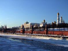 Moscou, vue de la Moscova, en Russie / par jiceh548 - Communauté GEO