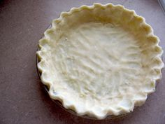 No Roll Pie Dough -- cream cheese