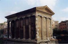 Temple of Portunas, Piazza della Bocca della Verita, Roman antiquities
