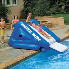 1000 images about piscine accessoires on pinterest pool for Achat toboggan gonflable piscine