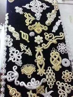 Couture Embroidery, Ribbon Embroidery, Pakistani Fashion Party Wear, Simple Blouse Designs, Hungarian Embroidery, Point Lace, Lace Outfit, Gold Work, Hand Embroidery Designs