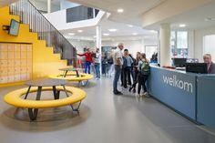 BUDDY round polyethylene seating element by miramondo School Furniture, Street Furniture, College, Home Decor, University, Classroom Furniture, Interior Design, Home Interior Design, Home Decoration