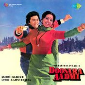 Doosara Aadmi Randhir Kapoor, Rishi Kapoor, White Glitter Wallpaper, Asha Bhosle, Kishore Kumar, Vintage Bollywood, Movie Songs, Mp3 Song, Soundtrack