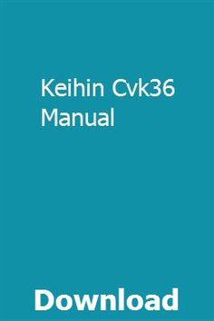 Keihin cvk36
