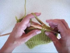 DROPS Knitting Tutorial: How to make a knitted pleat. Making pleats on the waistline, or at an empire cut cardigan creates very elegant and ...
