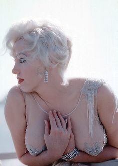 Stunning photo of MM by Richard C. Miller on the set of 'Some like it Hot' 1958.