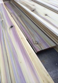 Rainbow Poplar Wood Turning Blanks Trees To Lumber