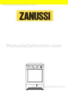 Zanussi TC7124  background page 0001
