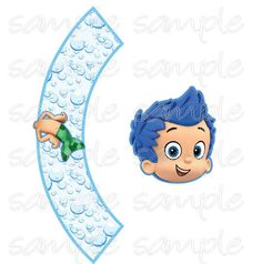 Bubble guppies cupcake topper & wrapper INSTANT DOWNLOAD, bubble guppies decorations, Bubble Guppies birthday,  sea birthday decoration on Etsy, $7.65 Bubble Guppies Decorations, Bubble Guppies Cupcakes, Bubble Guppies Birthday, Second Birthday Ideas, 2nd Birthday, Underwater Birthday, Kids Bubbles, Birthday Numbers, Guppy