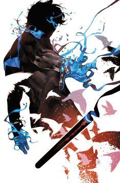 """The Bat family by Yasmine Putri is so gorgeous! Batman, Nightwing, Red Hood and Batgirl! Batman Wallpaper, Nightwing Wallpaper, Red Hood Wallpaper, Batman Artwork, Comic Book Covers, Comic Books Art, Comic Art, Book Art, Character Drawing"
