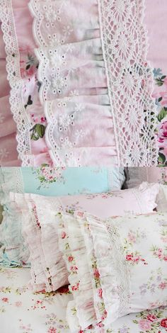 Linen Pillows, Cotton Pillow, Shabby Chic Tablecloth, Victorian Lace, Big Girl Rooms, Scatter Cushions, Dorm Room, Pillow Shams, Floral Lace