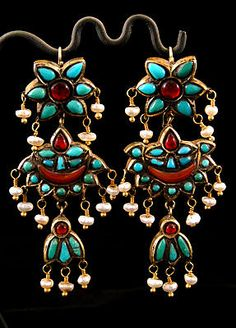 Antique Afghani earrings