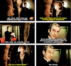 People seem to forget that the clockwork droids are covered with human skin...the Doctor was wearing someone's actual face!