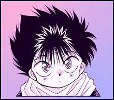 Aww Chibi Hiei is so adorable Anime Nerd, All Anime, Anime Guys, Yu Yu Hakusho Hiei, Yoshihiro Togashi, Manga Pictures, Manga Games, Manga Comics, Anime Shows