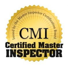 We are Certified Master Inspectors.
