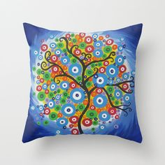 funky cushions covers for home throw pillows with by TheCateEscape
