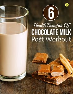 6 Health Benefits Of Chocolate Milk Post Workout : Working out and looking good is everyone's obsession these days, and why shouldn't it be? Exercise comes with a whole lot of benefits, such as boosting of metabolism, losing of extra fat and of course, toned muscles. People who work out tend to be happier than those who do not.