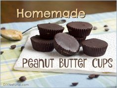 Once you've had these homemade peanut butter cups you'll never eat store-bought again! You only need TWO ingredients, REAL chocolate and NATURAL nut butter.