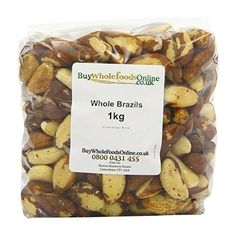 Buy Whole Foods Brazil Nuts Whole 1 Kg ($16) ❤ liked on Polyvore featuring home, kitchen & dining and kitchen gadgets & tools
