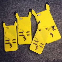 "Yellow iPhone5s/6s/6plus phone case Coupon code ""cutekawaii"" for 10% off"