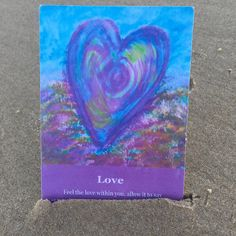 Daily Heart Whisper oracle card is love. Today ask yourself What do I love share in the comments. #heartwhisper #selflove