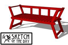 Angle Bench