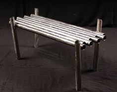 Weird Furniture: Modern Pipe Coffee Table