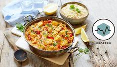 Prøv den indiske linsegryten, dal, her med torsk og fullkornscouscous. En sunn og god rett som garantert vil bli en ny favoritt!