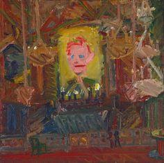 Frank Auerbach  Rimbaud  www.artexperiencenyc.com