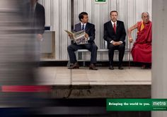 Metro: Bringing the world to you #Advertising