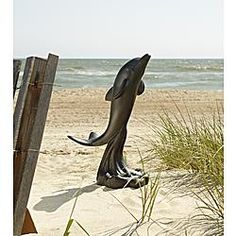 Large Dolphin Statue