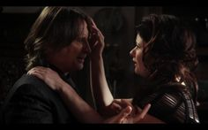 "Season 2 finale ""And Straight On Till Morning"" screen capture... Mr. Gold & Belle"