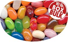 10 lb. Box of 49 Assorted Jelly Beans. Yum    $85.99