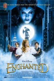 The movie Enchanted directed by Kevin Lima, the film stars Amy Adams, Patrick Dempsey. This is actually the last movie I saw on the cine. Amy Adams, Enchanted Movie, Disney Enchanted, Giselle Enchanted, Enchanted Hands, Patrick Dempsey, Idina Menzel, Disney Movies, Disney Films