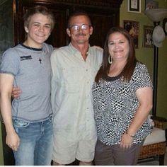 hunter & his parents