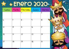 School calendars according to the season - tabloid size , Education Clipart, School Calendar, Frame Crafts, Days And Months, Your Teacher, Classroom Decor, Back To School, Homeschool, Clip Art