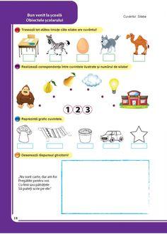 Comunicare in limba romana - Clasa Pregatitoare Map, School, Children, Decor, Young Children, Boys, Decoration, Location Map, Kids