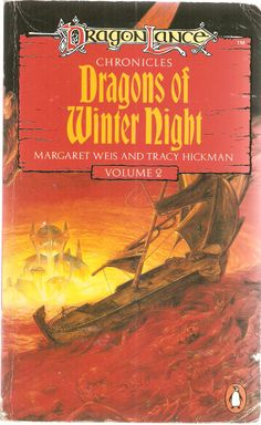 Dragons of Winter Night. by Margaret Weis and Tracy Hickman. Dragon Lance Chronicles Volume 2.