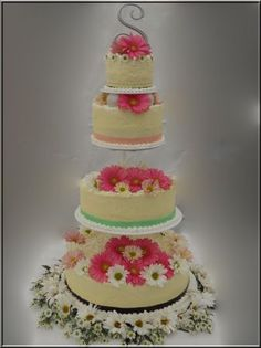 cakes I've done for weddings