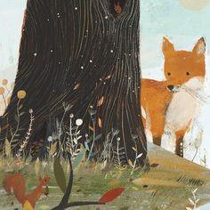 Forest Illustration, Illustration Animals, Animal Illustrations, Young Fox, Richard Jones, Book Creator, Sketchbook Pages, Beautiful Stories, Animal Fashion